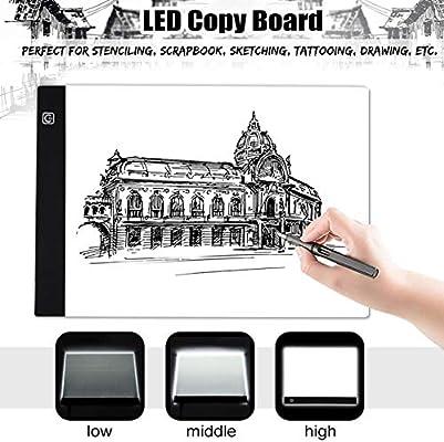 Mesa De Luz De Dibujo Tableta De Dibujo Caja De Luz Led Trazador ...