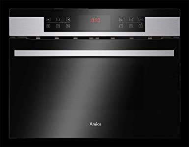 AMICA EBC 841 600 E - Horno compacto con función microondas, acero ...