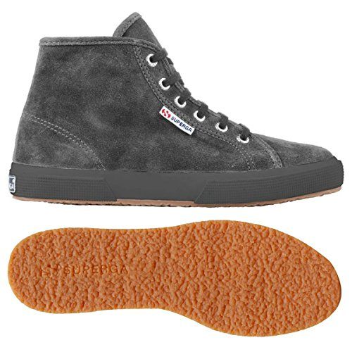 Superga 2095- SUEU S0028C0 - Zapatillas fashion de ante unisex Full Grey Stone