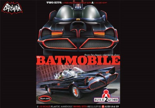 Polar Lights POL907/06 1/25 Batmobile 2-Pack (Snap/Glue)