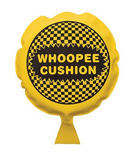 Lowest Price! Whoopee Cushion Makes Fart Sound Self-Inflating Hygienic No Need to Inflate With Mouth...