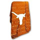 Texas Longhorns 50 x 60 Classic Fleece Throw - Texas Orange,