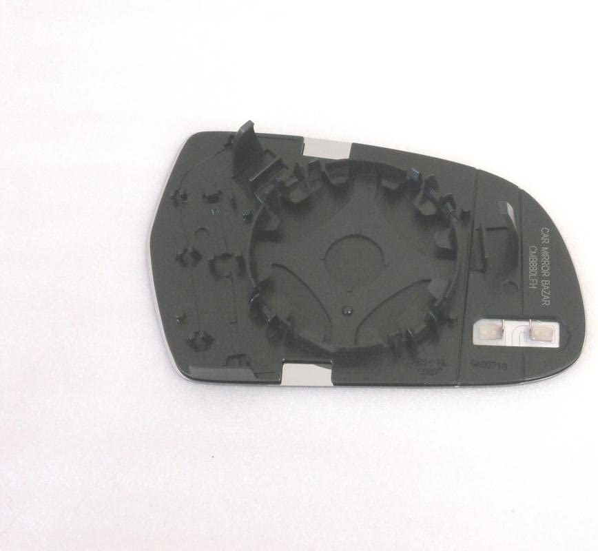 Burco 4369HRSG Driver Side Power Replacement Mirror Glass Heated with Motor Mount for 2011-2013 AUDI A3 2011-2014 S4 2013-2015 RS5 S5 2010-2015 A5 2011-2015 A4