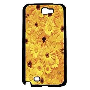 Yellow Sun Flowers Hard Snap on Phone Case (Note 2 II)