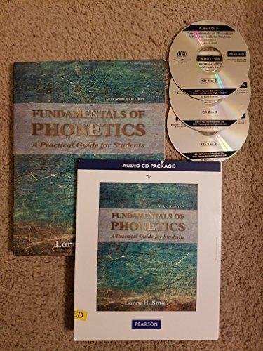 Fund.Of Phonetics W/Audio 3 Cds Pkg.