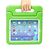 iPad Mini Case - Travellor® Kids Light Weight Kido Series Multi Function Convertible Handle Kickstand Kids Friendly Protective Shockproof Cover with Stand & Handle for Apple iPad Mini (Green)