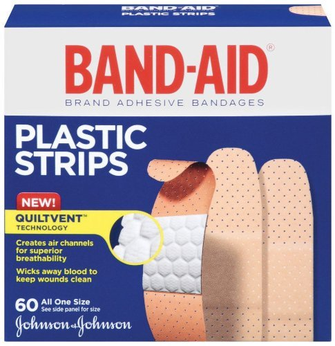 JOJ5635 - Band-Aid Plastic Bandages (Strips Aid Plastic Band)