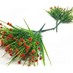 CATTREE-Artificial-Plants-4pcs-Faux-Babys-Breath-Fake-Small-Flowers-Gypsophila-Shrubs-Simulation-Greenery-Bushes-Wedding-Centerpieces-Table-Floral-Arrangement-Bouquet-Filler-Orange