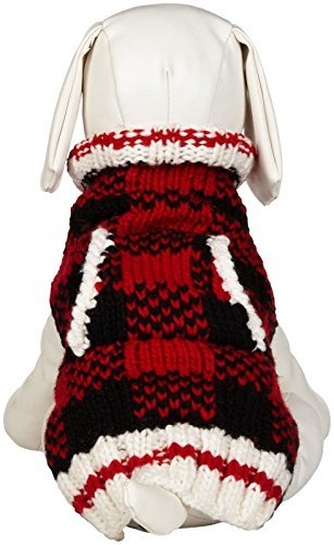 plaid dog sweaters