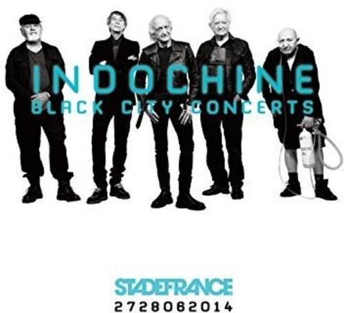 Blu-ray : Indochine - Black City Concerts (Germany - Import)