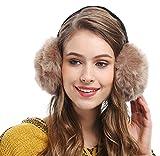 Unisex Winter Big Ear Warmers Soft Plush Faux Fur Ear Muff