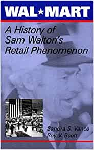wal mart background and history of company The incredible story of walmart's expansion from five & dime to  before  founder sam walton opened the discount store, he traveled the.
