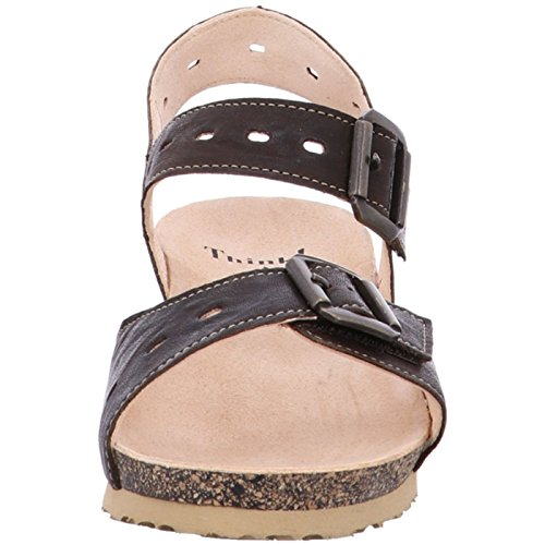 Brown Fashion UK 8 Brown Women's Think 5 Sandals qFvwaWZg