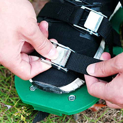 Finrezio Lawn Aerator Shoes,Spikes Lawn Aerator Sandals for Aerating by Finrezio (Image #4)