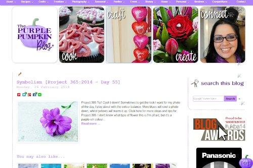 The Purple Pumpkin Blog (Blog Halloween Craft)