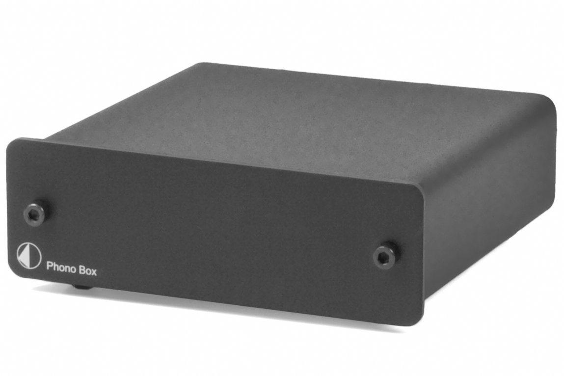 Pro-Ject Audio - Phono Box DC - MM/MC Phono preamp with line output - Blk FBA_13072