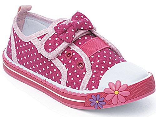 Foster Footwear , Mädchen Sneaker violett Millie Pink