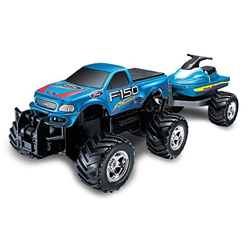 Remote Control Ford Extreme with Jet Ski by Radio Control
