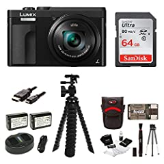 Panasonic Lumix point-and-shoot digital cameras are known among camera enthusiasts for reliability and innovative features. The Lumix ZS70 brings the legendary optical performance of a 30x (24-720mm) LEICA DC VARIO-ELMAR Lens with amazingly s...