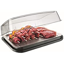 Vacu Vin Food Cooler / Cooling Plate with Protective Lid by Vacu Vin