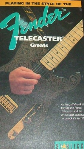 Price comparison product image Play in Style of Fender Telecaster Greats [VHS]