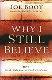 Why I Still Believe, Joe Boot, 0801066050