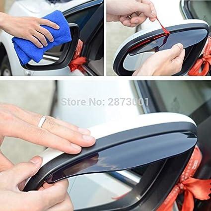 Homeve 2 Piezas de Accesorios para Espejo retrovisor para BMW E90 Ford Fiesta Tiida Renault Clio