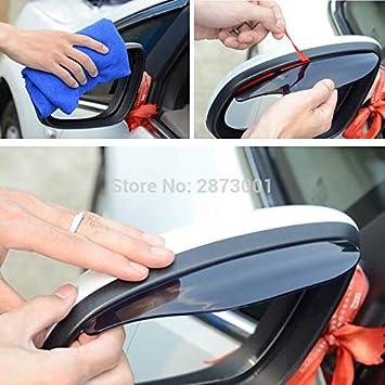 Aliaoforz 2 Piezas de Accesorios para Espejo retrovisor para Citroen c3 Honda hrv Chevrolet Peugeot 207 Nissan Versa Tucson: Amazon.es: Coche y moto