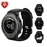 Bluetooth Smart Watch with Camera for Men Women Kids, Touchscreen Smart Wrist Watch with Sim Card Slot, Phone SmartWatch Sports Watches for iOS and Android Review