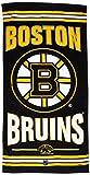 WinCraft NHL Boston Bruins A1865715 Fiber Beach Towel, 9 lb/30'' x 60''