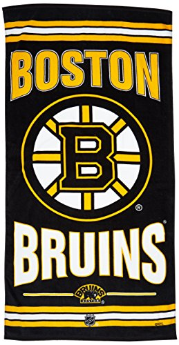 WinCraft NHL Boston Bruins A1865715 Fiber Beach Towel, 9 lb/30'' x 60'' by WinCraft