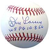 Don Larsen Autographed Official MLB Baseball New York Yankees