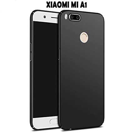 Johra® Mi A1 Back Cover 4 Cut All Sides Protection Sleek Ipaky Black Hard  Case Back Cover for Xiaomi Mi A1 - Mi A1 Back Cover