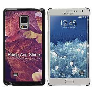 Dragon Case - FOR Samsung Galaxy Mega 5.8 - raise and shine - Caja protectora de pl??stico duro de la cubierta Dise?¡Ào Slim Fit