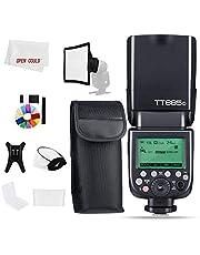 Godox TT685C 1/8000s HSS GN TTL Speedlite Flash Built-in Godox 2.4G Receiver Compatibel met Godox X System voor 70D/80D/6D/5D3/5D2/5D4/10OD/1200D/50OD (TT685C voor Canon)
