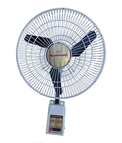 Almonard Multicolour Wall Mounting Fan, 18 Inches