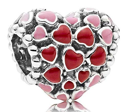 Pandora Burst of Love Multicolored Charm 796557ENMX by PANDORA