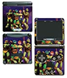 Teenage Mutant Ninja Turtles TMNT Leonardo Raph April Splinter Leo Cartoon Movie Video Game Vinyl Decal Skin Sticker Cover for Nintendo GBA SP Gameboy Advance System