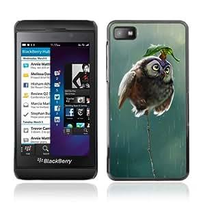YOYOSHOP [Cute Mouse & Owl] Blackberry Z10 Case