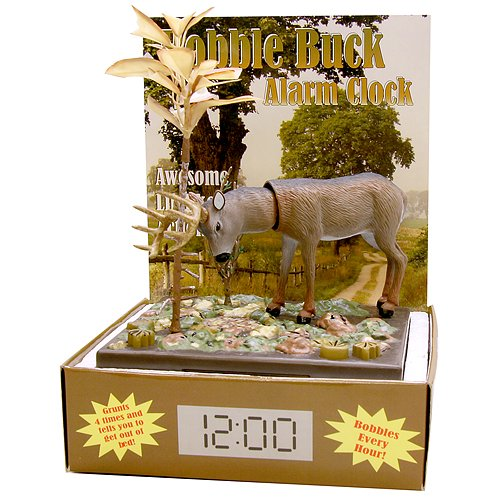 BHS Bobble Buck Alarm Clock