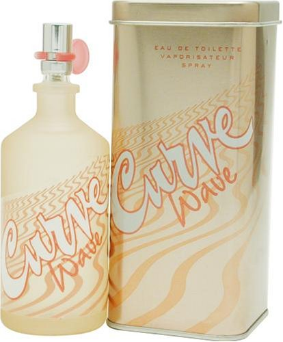 Curve Wave par Liz Claiborne for Women 3.4 oz Eau de Toilette Vaporisateur