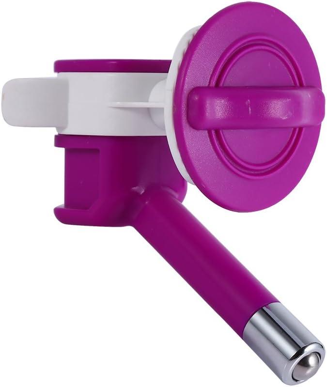 Dispensador de agua automático, fuente de agua fresca para perro o gato, boquilla para bebida suspendida, fuente alimentador, de plástico
