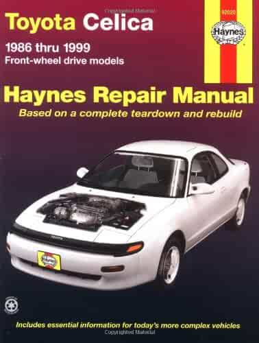 Shopping used repair maintenance paperback bargain books toyota celica fwd 8699 haynes manuals fandeluxe Choice Image