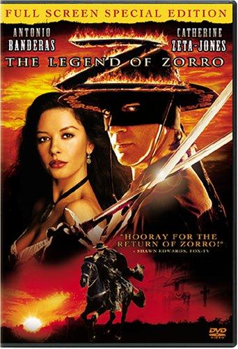 The Legend of Zorro (Full Screen Special Edition) (Bilingual) Antonio Banderas Catherine Zeta-Jones Rufus Sewell Alberto Reyes