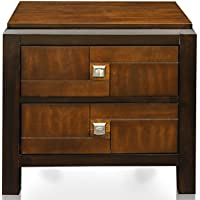 247SHOPATHOME Idf-7152N, nightstand, Walnut