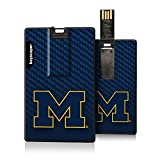 Michigan Wolverines 8GB Credit Card Style USB Flash Drive NCAA