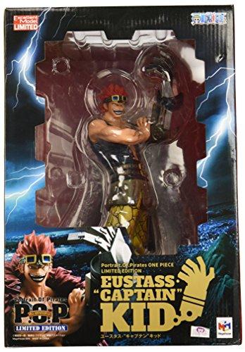 Megahouse One Piece Portrait of Pirates: Eustass Captain Kid Limited Edition Excellent Model Figure