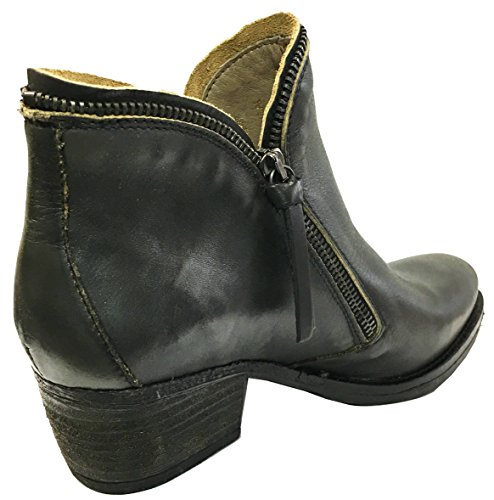 Coque Grey Leather DK Terra Saddle Chelsea Boots Portuguese ZrxHZ