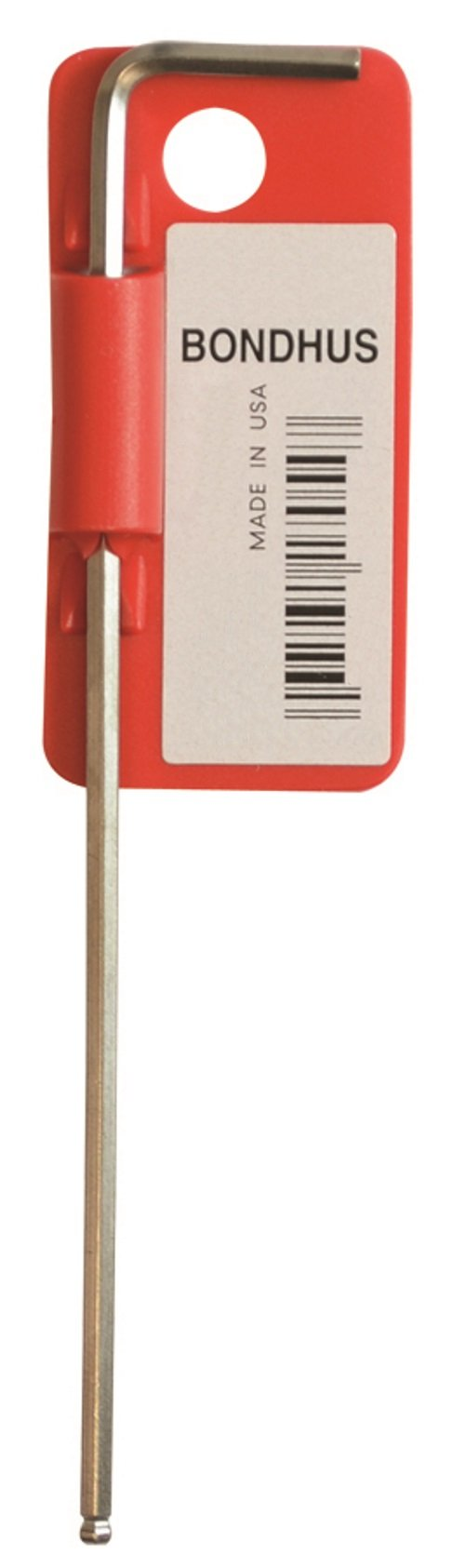 Bondhus 27050 1.5mm Ball End Tip Hex Key L-Wrench with BriteGuard Finish (Pack of 50), 90mm by Bondhus