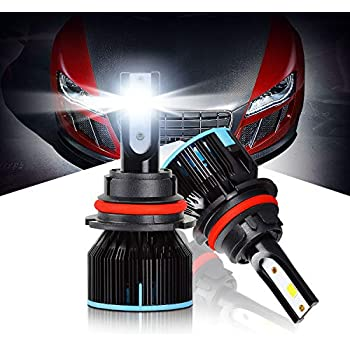 Amazon Com Led Headlight Bulbs 9007 All In One Conversion